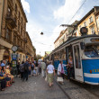 One of the streets in historical center of Krakow — Stock Photo #45246445