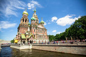 The Church of the Savior on Spilled Blood — Stock Photo