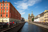Griboyedov Canal Embankment — Stockfoto