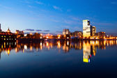 Moscow River, Berezhkovskaya Embankment — Stock Photo