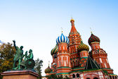 St Basil's Cathedral in Red Squar — Stock Photo