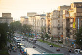 Top view of the Stachek - Prospect in St.Petersburg — Stock Photo