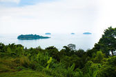 Beautiful view of the Ko Chang island, Thailand — Stock Photo