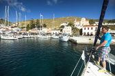 Marina de kea — Foto de Stock
