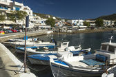 Marina of Kythnos — Stock Photo