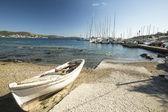 Marina of Syros — Stock Photo