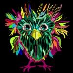 Cute Owl, cartoon drawing — Stock Vector #47183279