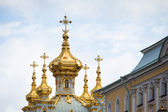 Peterhof Palace near St. Petersburg — Stockfoto