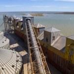 ������, ������: View on the premises Port of Ingeniero White