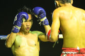 Unidentified Muay Thai fighters — Stock Photo