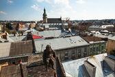 Schornsteinfeger-denkmal auf dem dach des haus der legenden — Stockfoto