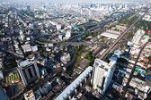 Panorama view over Bangkok — Stock Photo