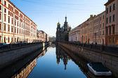 Remblai du canal griboïedov — Photo