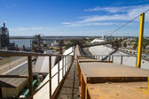 View on the premises Port of Ingeniero White — Stock Photo