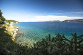 View of the Saronic Gulf at Greece — Stock Photo