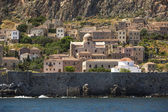 Medieval fortress of Monemvasia in Greece. — Stockfoto