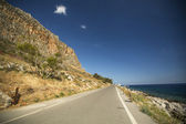 Road of Greek island Monemvasia. — Stock Photo