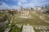 Ruins in Athens in center of city — Stock Photo