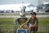 Staff during the  ILA Berlin Air Show-2014 — Stock Photo