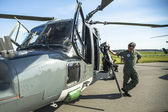 Staff during the  ILA Berlin Air Show-2014 — ストック写真