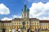 View of Charlottenburg Palace — Stock Photo