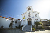 Orthodox church on Andros — Stock Photo