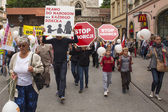 Rally against abortion in defense of life and family — Stok fotoğraf