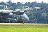 Transport plane C-160 Transall — Stock Photo