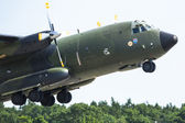 Military transport aircraft C-160 Transall — Stock Photo