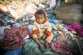 Child is sitting,Nepal — Stock Photo