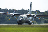 Military transport aircraft — Stock Photo