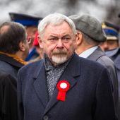 Prof. Jacek Majchrowski, Mayor Krakow — Stock Photo
