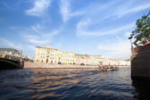 St. Petersburg channel — 图库照片