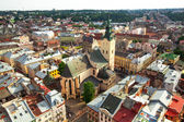 View from Lviv City Hall — Stock Photo