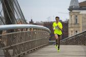 Krakow international Marathon. — Stock Photo
