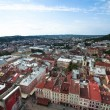Top view from Lviv City Hall — Stock Photo #48002851