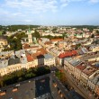 Top view from Lviv City Hall — Stock Photo #48002885