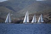 """Veleros de regata """"2014 11 ellada — Foto de Stock"""