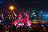 Festival Scarlet Sails in ST. Petersburg — Stock Photo