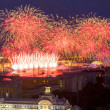Firework at festival Scarlet Sails in Russia — Stock Photo #48614645