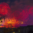 Firework at festival Scarlet Sails in Russia — Stock Photo #48615463