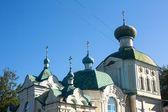 Tikhvin Assumption Monastery — Stockfoto