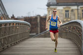 Annual Krakow international Marathon — Foto Stock