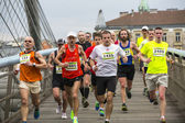 Annual Krakow international Marathon — Stock Photo