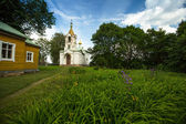 Orthodox temple of the Holy Trinity — Stock Photo