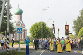 Orthodox Religious Procession — 图库照片