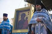 Orthodox divine Liturgy — Stock Photo
