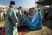 Bishop and Tikhvin Lodeinopolskiy Mstislav — Stock Photo