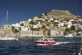 Marina of Hydra Island — Stock Photo