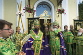 Celebrations commemorating the Rev. Anthony Dymsky — Foto de Stock